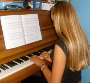 Short poems, piano