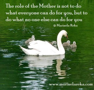 Quote about Mothers love and care
