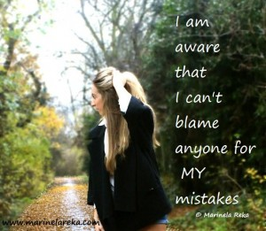 quotes about blaming others for your own mistakes
