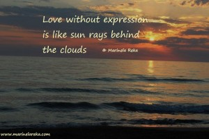 Image with quote on love, marinela reka