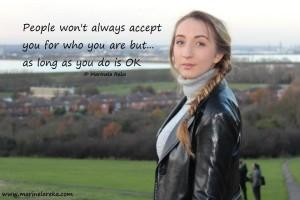 Marinela Reka, accept your self