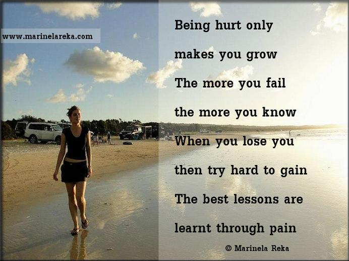 Short poem about life lessons | Motivational & Inspirational Poems ...