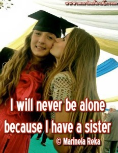 have a sister