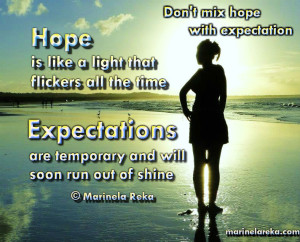 hope and expectation 1