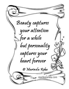Quote about looks and personality