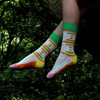 Fashion poem about socks