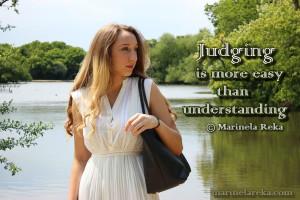 Quotes about Judging, marinela reka