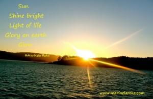 Lantern poem about sun