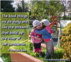 kindness, marinela reka