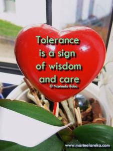 Tolerance marinela reka