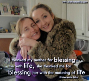 Mother blessing quotes