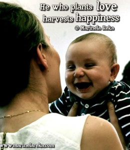 quote about love and happiness, marinela reka
