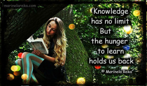 Quotes About Knowledge, marinela reka